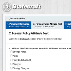 Foreign Policy Attitude Test