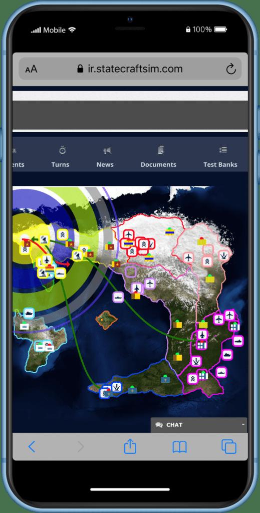 Statecraft International Security Simulation Phone Screen