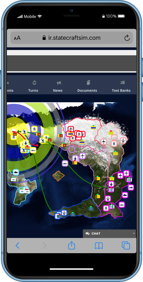 Statecraft International Security Simulation Phone Screen