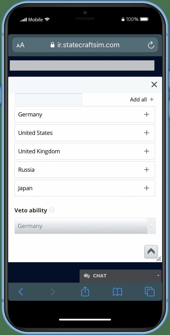 MUN Digital Assistant Phone Screen